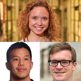 MIT graduate students Kelsey Stoerzinger, Scott Grindy and Ritchie Chen won Silver Awards at the Materials Research Society (MRS) 2015 Fall Meeting in Boston.