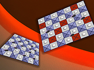 way a new surface treatment can improve the efficiency and longevity of perovskite materials for use in applications such as fuel-cell electrodes. Image, Felice Frankel.