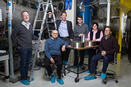 Members of LIGO Group at MIT. Photo, Bryce Vickmark