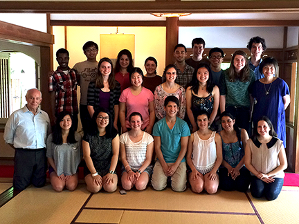 Students in MIT's Global Principles of Engineering Practice class toured Japan after  a May 24, 2015, Symposium at the University of Tokyo.