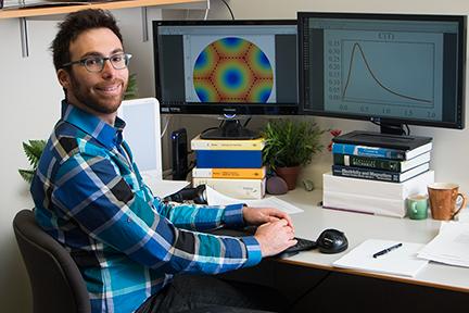 Itamar Kimchi_ Pappalardo fellow at MIT. Photo_ Denis Paiste_ Materials Processing Center