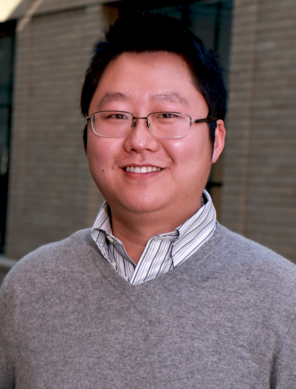 MIT Assistant Professor of Physics Liang Fu. Photo, Denis Paiste