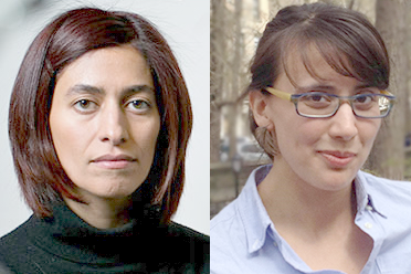 MIT Assistant Professors of Physics Nikta Fakhri [left] and Kerstin Perez are among the 126 American and Canadian researchers awarded 2017 Sloan Research Fellowships, the Alfred P. Sloan Foundation announced Feb. 21, 2017.