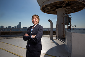 Maria Zuber, vice president for research at MIT, is the new chair of the National Science Board. Photo, Bryce Vickmark