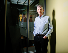 CSAIL researcher Michael Stonebraker, who revolutionized database management systems and founded multiple companies, has won the Association for Computing Machinery's (ACM) A.M. Turning Award., Photo, M. Scott Brauer
