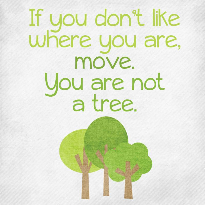 Youre Not A Tree You Can Move Wellness With Coach Cass