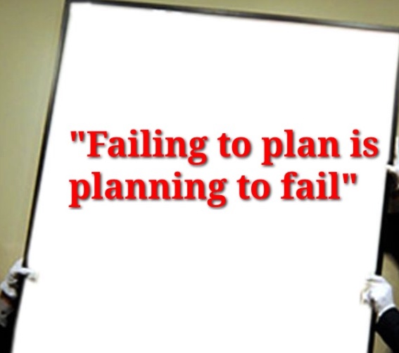 Planning to Fail is Failing to Plan Meaning Failing to Plan is Planning to