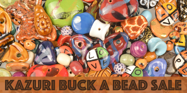 Kazuri Buck a Bead Sale