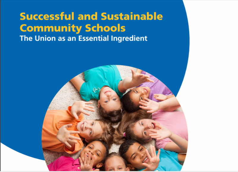 Successful and Sustainable Community Schools Publication Picture with children in a circle