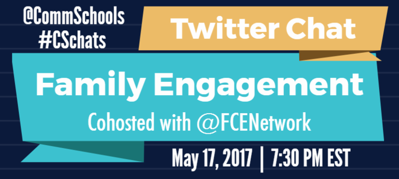 Twitter Chat - Family Engagement event May 17_ 2017 7_30 PM EST