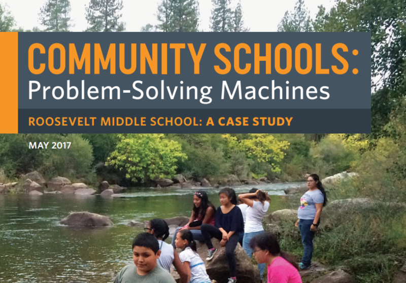 Community schools problem solving machines publication picture