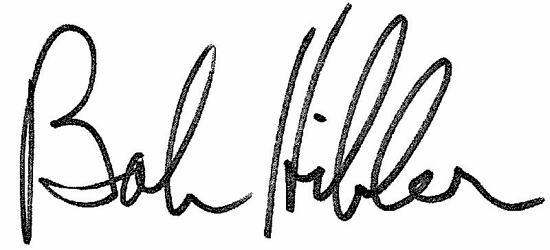 Bob Hibler Signature