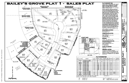 Baileys Grove Plat Map - Adel Ia