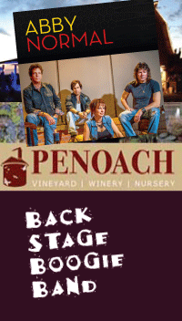 Penoach Concert - Abby Normal and Backstage Boogie Band