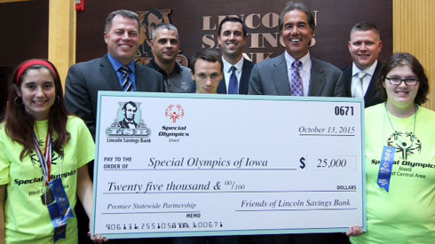 LSB Iowa Special Olympics Sponsor