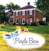 Purple Barn Bed and Breakfast - Adel Iowa
