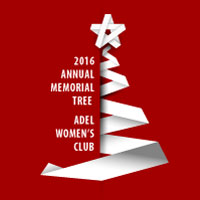 2016 Adel Womens Club Memorial Tree