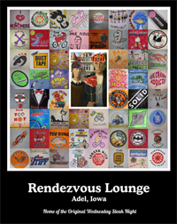 Rendezvous Lounge Poster - Adel Iowa
