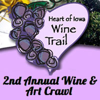 Heart of Iowa Wine Trail Fall Art and Wine Crawl