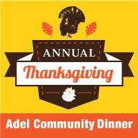 Adel Thanksgiving Dinner