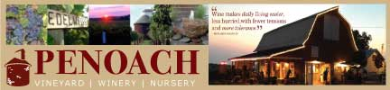 Penoach Vineyard Winery Nursery Adel Iowa