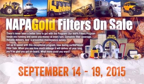 Adel Auto Parts NAPA Gold Filter Sale