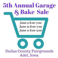 Garage Sale and Bake Sale