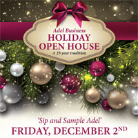 Adel Holiday Open House 2016