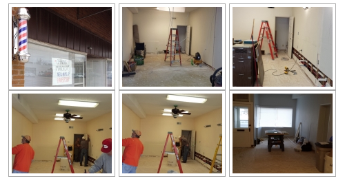 Town and Country Barbershop Remodel - Adel Iowa