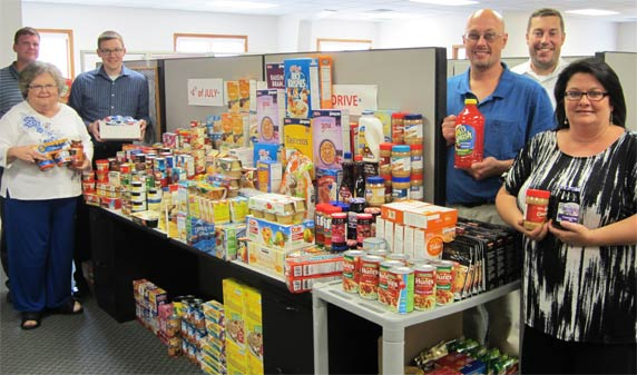 BASE® Employees Support Local Food Pantry