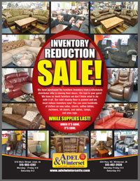 Adel Winterset TV & Appliance Inventory Reduction Sale