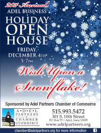 2015 Adel Holiday Open House