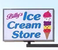 Billys Ice Cream Store - Adel Iowa