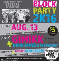 Adel Sweet Corn Festival Block Party