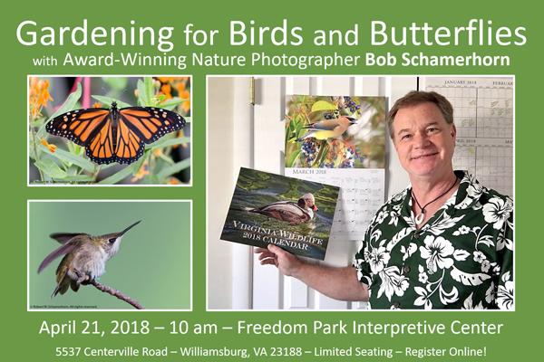 Gardening for Birds and Butterflies with Bob Schamerhorn