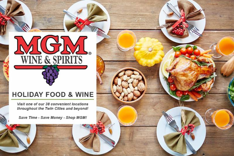 Holiday Food and Wine