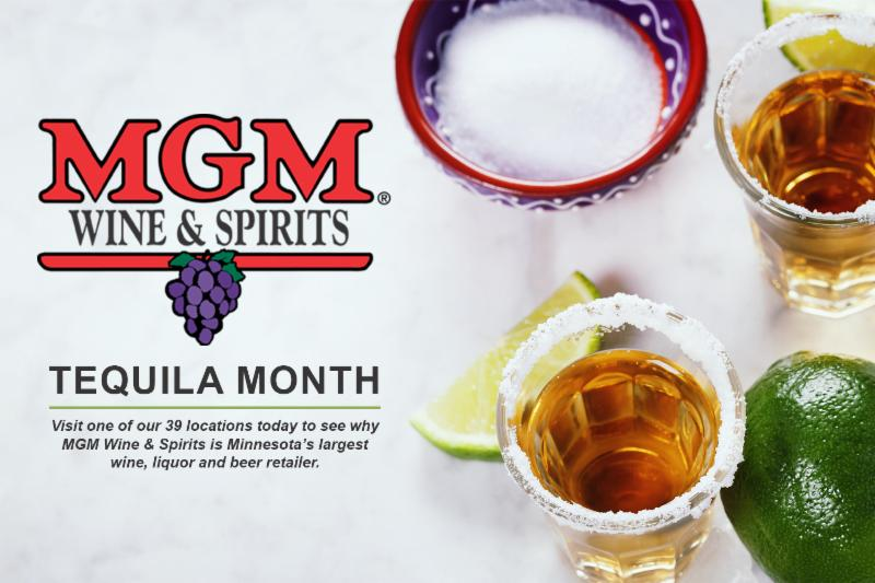 MGM Wine & Spirits Tequila Month
