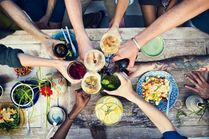 Dine with Wine Header
