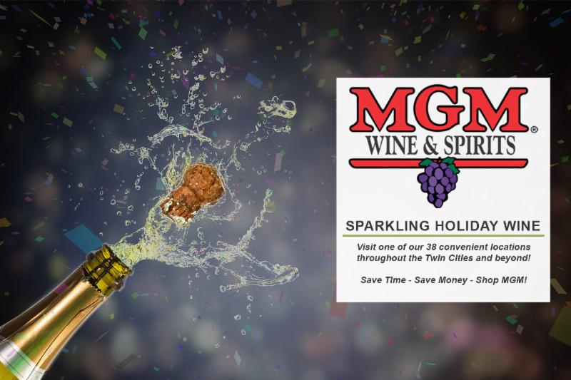 Sparkling Holiday Wine