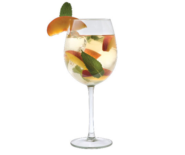 Peach Elder Sangria