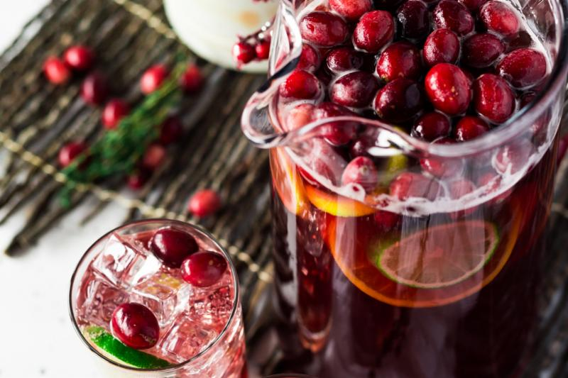 Cranberry-pineapple punch