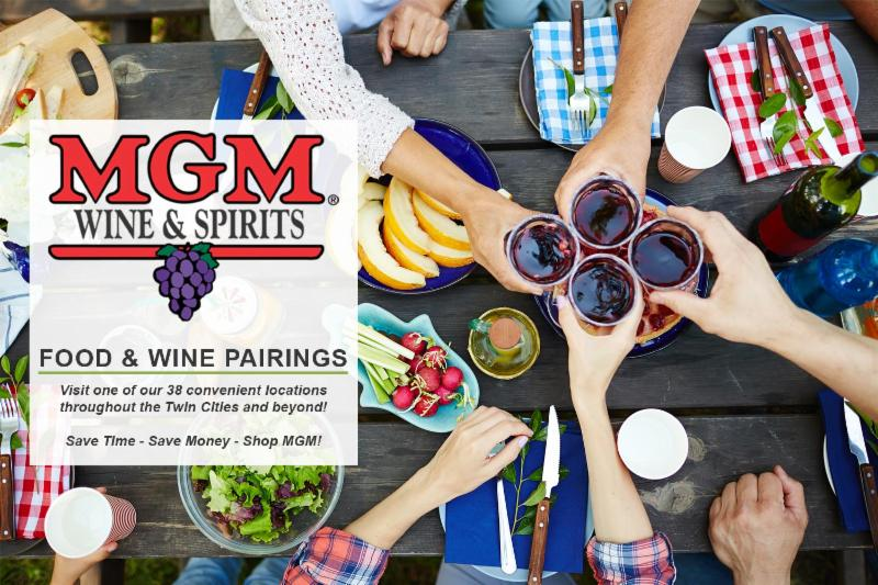 Food and Wine Pairings Header