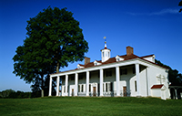George Washington's Mount Vernon estate.