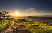 Sunrise from Mount Eden