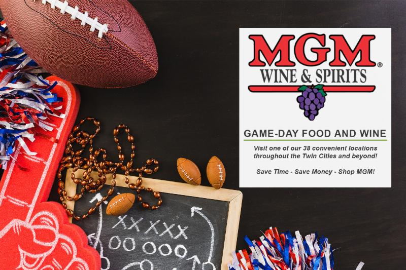 Football Party Food & Wine Hero