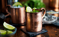 Two Moscow Mules.