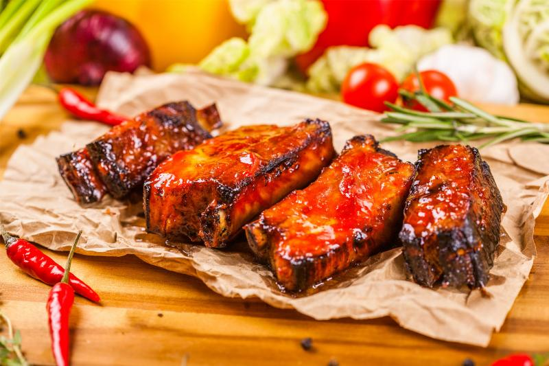 Glazed Spareribs