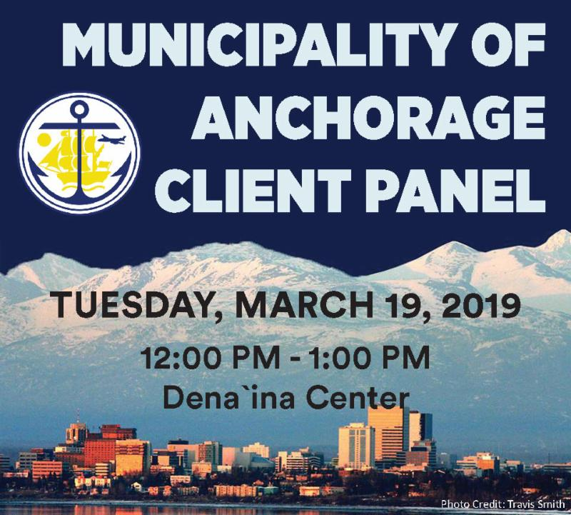 March Luncheon: MOA Client Panel @ Dena'ina Center