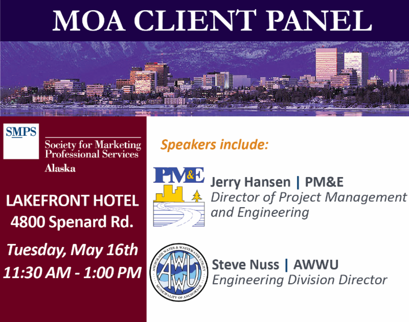 May Luncheon: MOA Client Panel @ Lakefront Hotel | Anchorage | Alaska | United States