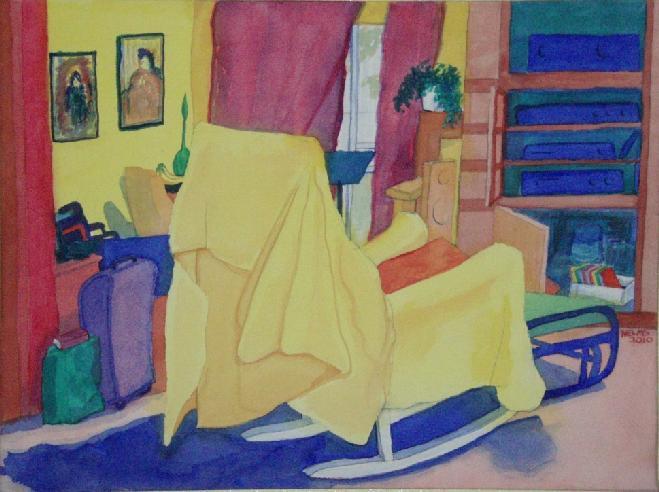 Morris Nelms watercolor